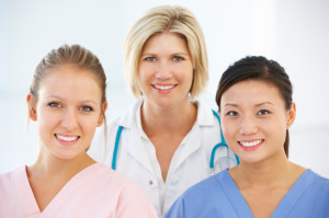 Portrait Of Female Medical Team